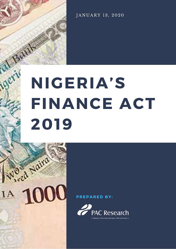 Nigeria's Finance Act 2019